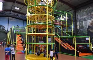 Sortie famille parc indoor Dino Jo