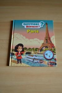 """Notre coin lecture spécial Paris (#chutlesenfantslisent) Paris, avec la collection """"Questions ? Réponses !"""""""