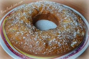 Gateau d'été fruité au yaourt sans GLo (sans gluten, lait, ni oeuf) entier Bouillondidees