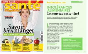 Revue Presse HS Santé Mangazine Intolérances gluten lait 1 Bouillondidees