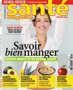Revue Presse HS Santé Managzine Intolérances gluten lait UNE Bouillondidees