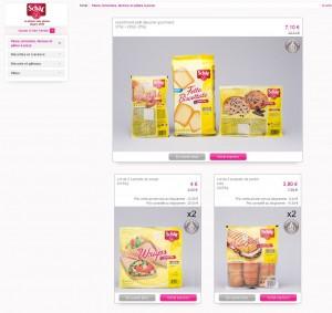 Vente privée produits sans gluten Schär 2