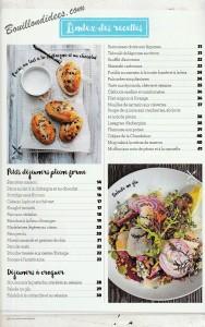revue de presse HS Gourmand Sans gluten Index recettes 1