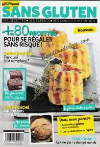 revue de presse HS Gourmand Sans gluten Une