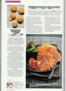revue de presse HS Gourmand Sans gluten recette darphin