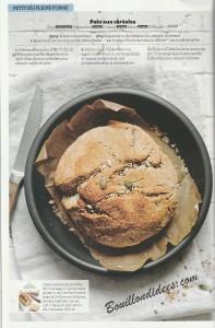 revue de presse HS Gourmand Sans gluten recette mug cake