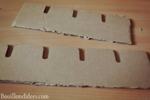 DIY Chateau-fort Moyen-Age Chevaliers Bouillondidees  rempart carton