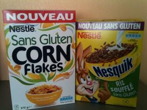 Céréales Nestlé sans gluten (sas GLO)