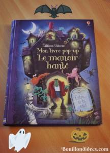 Idées de lecture Halloween Manoir hanté pop-up