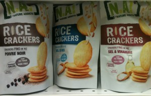 Rice crackers de N.A! (crackers sans gluten & cie)