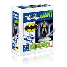 coffret Super héros (Batman ou SuperMan) de Mako Moulage (TOP 10 jouets Noël 2015)