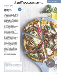 magazine Hors Serie Régal sans gluten - recette pizza chouffleur