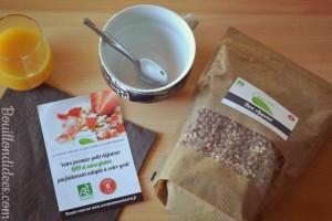 La souris Verte Test céréales muesli sans gluten bio