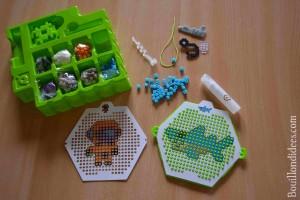 Test Qixels perles repasser coffret Bouillondidees