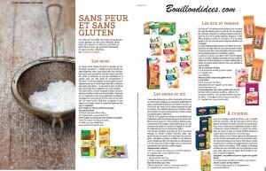 Zeste 21 octnov produits sans gluten