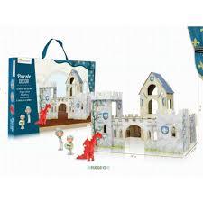 Le Puzzle Décor, Château de Chevaliers (Avenue Mandarine) (TOP 10 jouets Noël 2015)