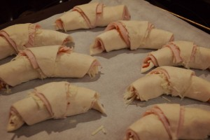 Test pâte feuilletée sans gluten sans lactose de Croustipate sans GLO (sans gluten lait oeuf) croissants salés