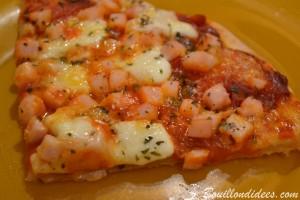 Test pâte pizza sans gluten sans lactose de Croustipate sans GLO (sans gluten lait oeuf) croissants salés