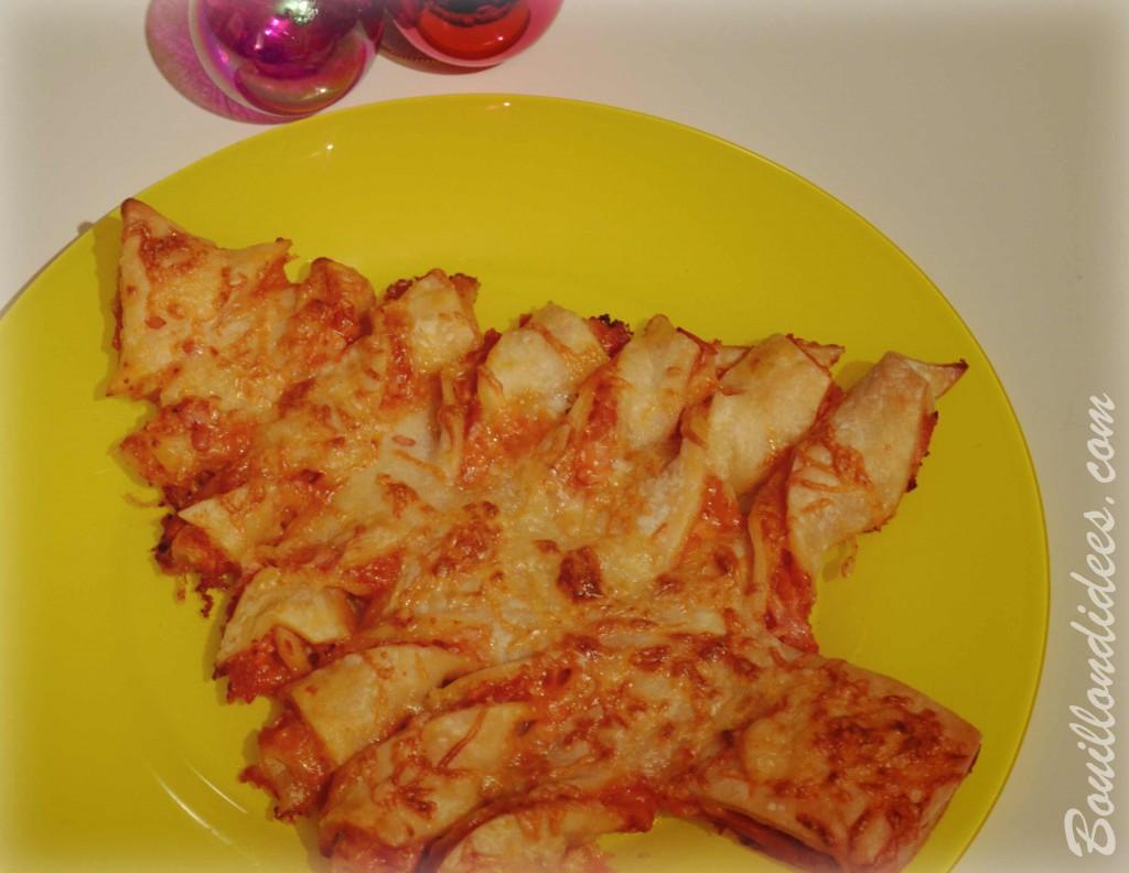 feuilleté sapin (croustipate) sans GLO (sans gluten, sans lait, sans oeuf) Bouillondidees