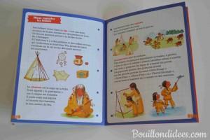 livre idées lecture Spécial premières lectures CP Pere Castor Flammarion Les docs du CP indiens