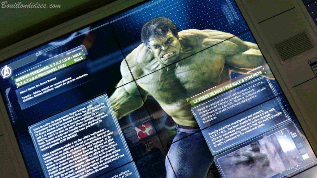 Marvel Avengers Station exposition La Defense Paris 2016 Hulk