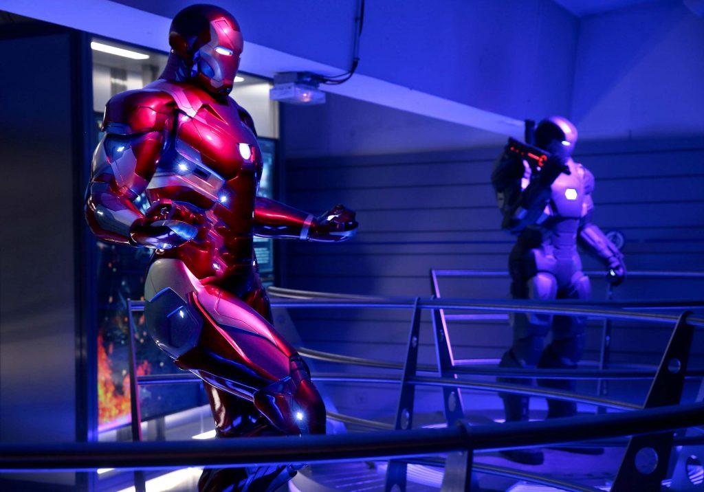 Avengers Station exposition La Defense Paris 2016 Iron man