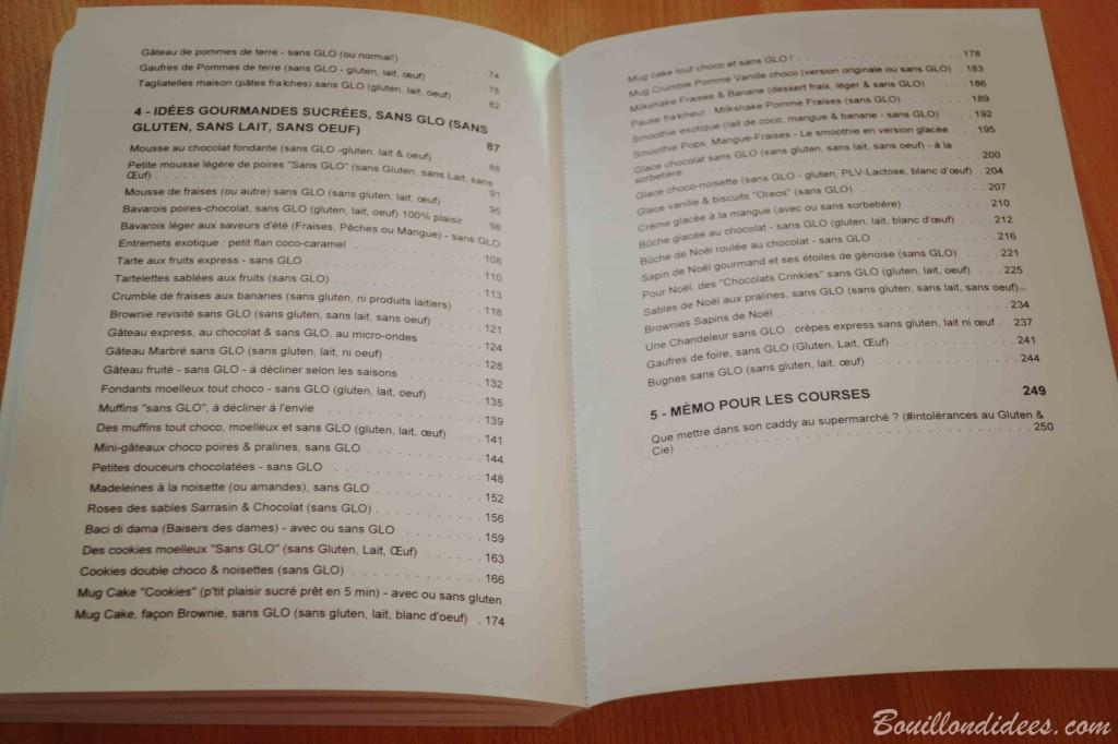 Blook, le livre du blog Bouillondidees via Blookup sommaire