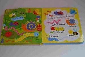 Livres à toucher premiers livres bébé Avec mon doigt... Mon imagier des animaux Usborne Bouillondidees 2