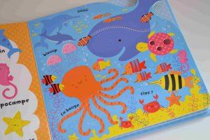 Livres à toucher premiers livres bébé Avec mon doigt... Mon imagier des animaux Usborne Bouillondidees 3