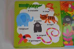 Livres à toucher premiers livres bébé Avec mon doigt... Mon imagier des animaux Usborne Bouillondidees 4