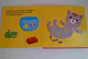 Livres à toucher premiers livres bébé C'est l'heure des chatouilles (Éditions Petit Nathan)Bouillondidees 2
