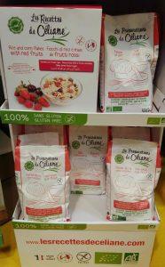 coup de coeur SAAPS (salon des allergies alimentaires et produits sans) les recetets de Céliane sans gluten