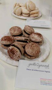 coup de coeur SAAPS (salon des allergies alimentaires et produits sans) macarons sans GLO Gentle Gourmet