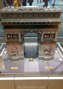 legostore Lego Store Canopée les Halles Paris Bouillondidees arc triomphe en lego