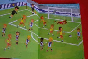 Idées de lecture Foot - spécial Euro 2016 - 1000 autocollants - Le football (Éditions Usborne)