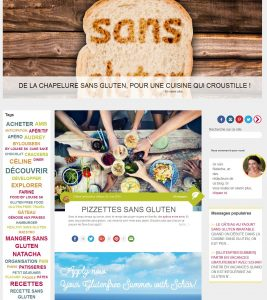 """Les plaisirs sans gluten"""", le nouveau blog de Schär"""