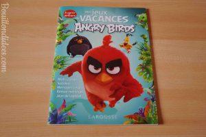 Cahiers de devoirs et d'activités pour les vacances 6-7 ans CP Ce1 Jeux vacances Angry Birds Larousse Bouillondidees