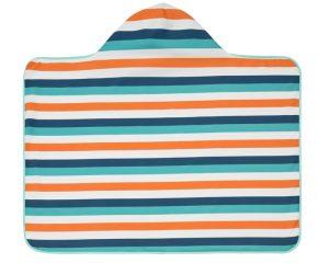 Profiter du soleil avec bébé cap de bain serviette Lassig anti UV ain sable Bouillondidees