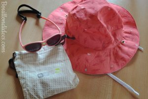 Profiter du soleil avec bébé chapeau Kapel Lunettes Jokaki Ki Et La Bouillondidees