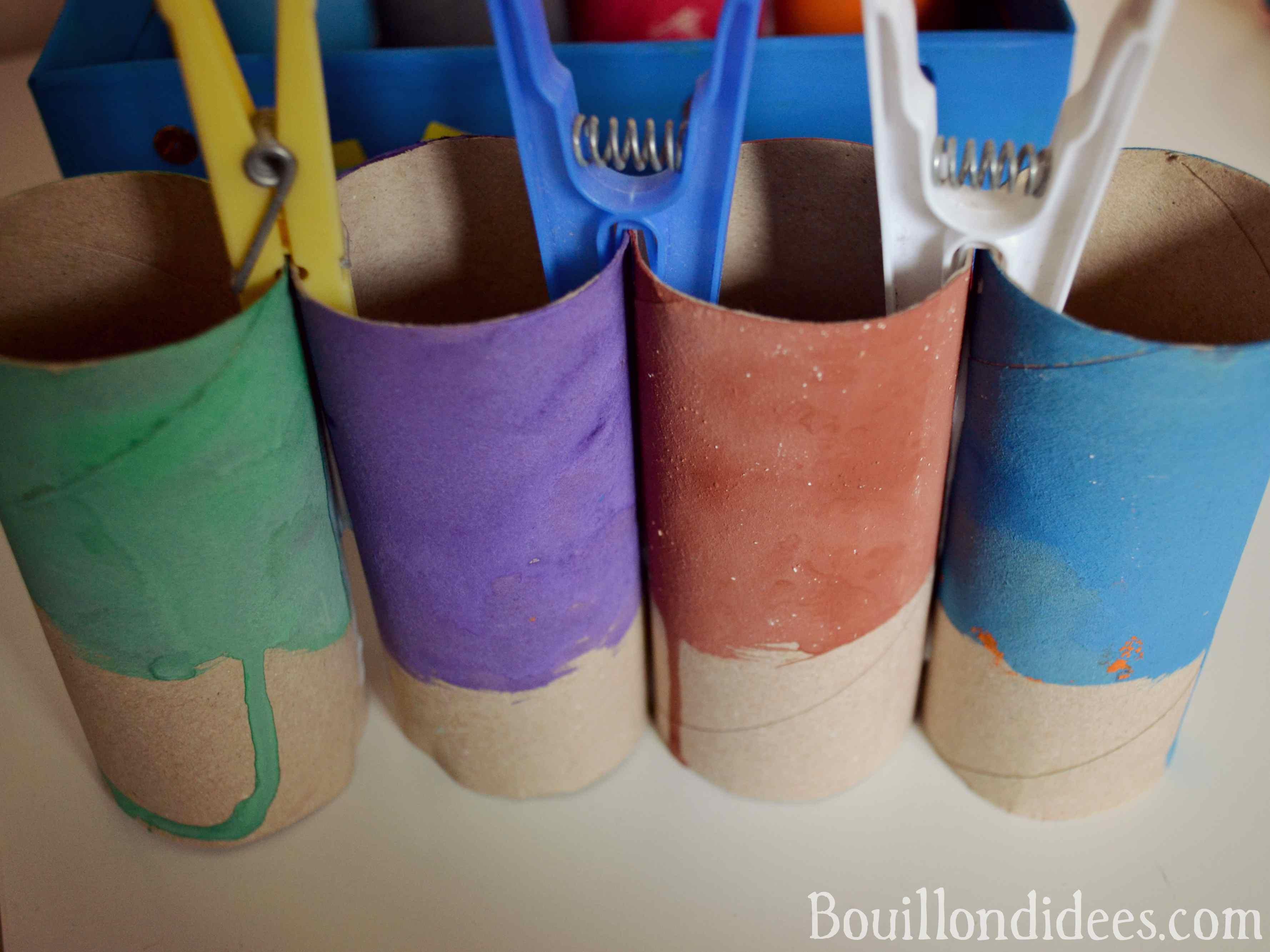 Boite Rangement Papier Wc créer un pot à crayons (diy rentrée - rangement)