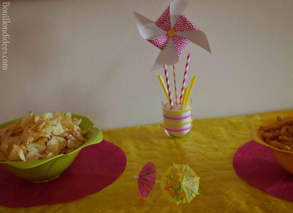 Fabriquer des moulins à vent en papier (DIY fête aux couleurs de l'été)