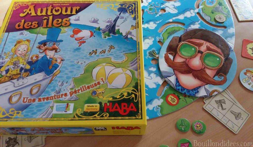 Jeu Haba Autour des îles: un jeu de plateau pour les voyageurs intrépides (Joueur Complice)