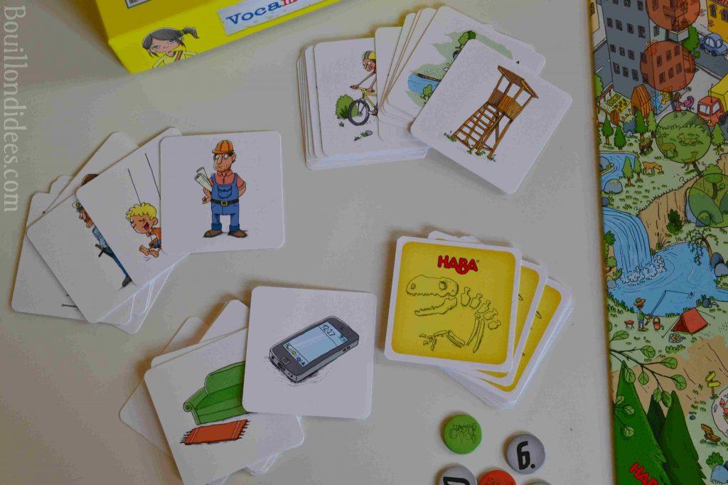 Jeu Haba Vocamots : un jeu malin pour les experts des syllabes (Joueur Complice)