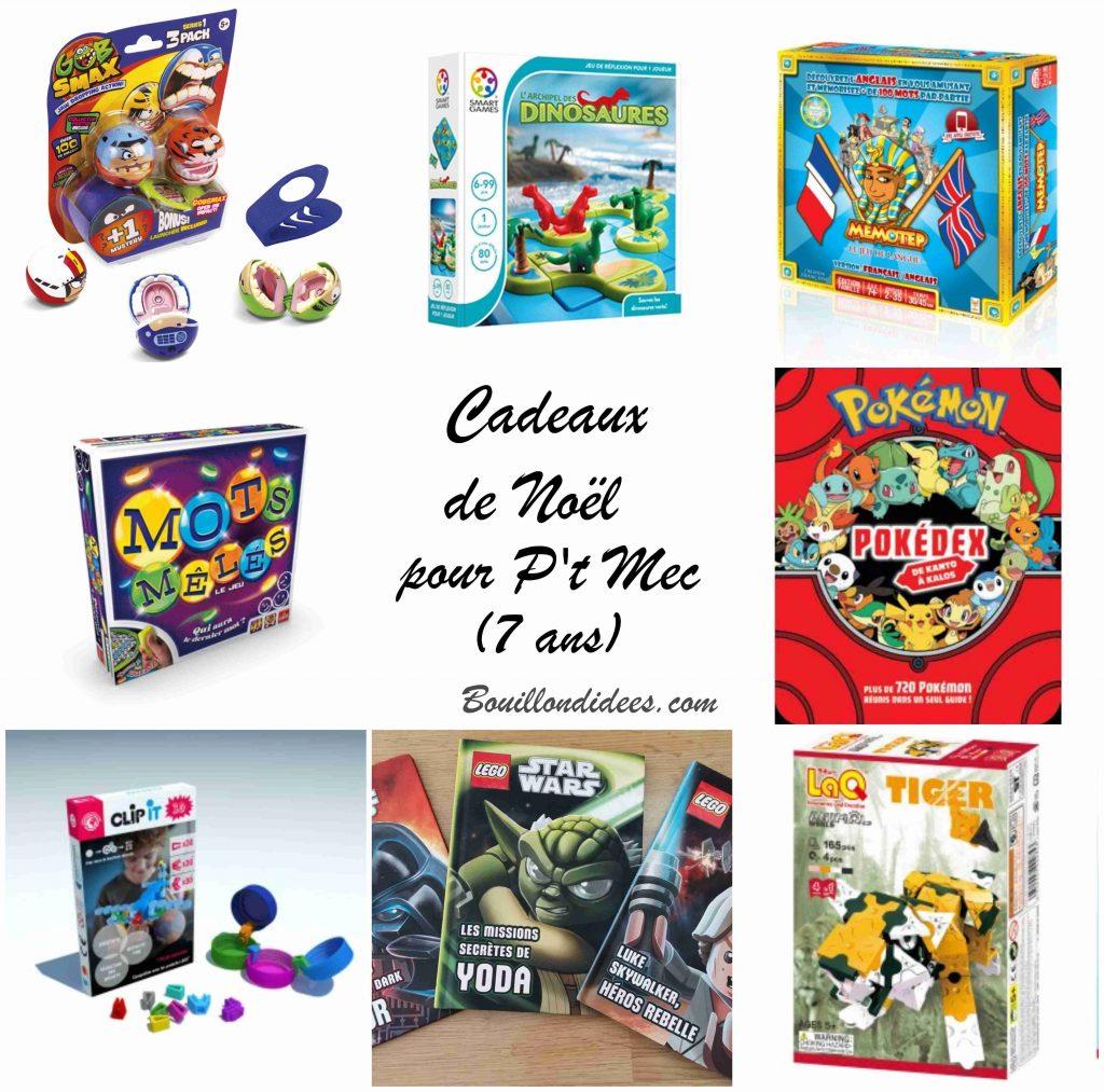 Wishlist - Top Cadeaux de Noël pour garçon (de 5 à 8 ans)