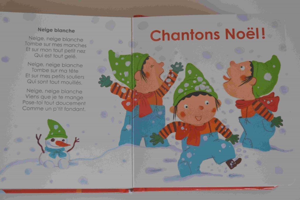 Imagidoux - Mon imagier de Noël (Gründ) Nos idées lecture des livres pour plonger bébé dans l'ambiance de Noël Bouillon d'idées