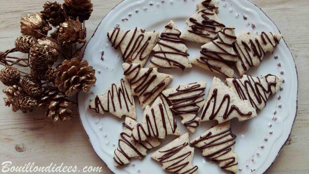 Sablés de Noël à la noisette sans GLO (sans Gluten, sans Lait, sans œuf)