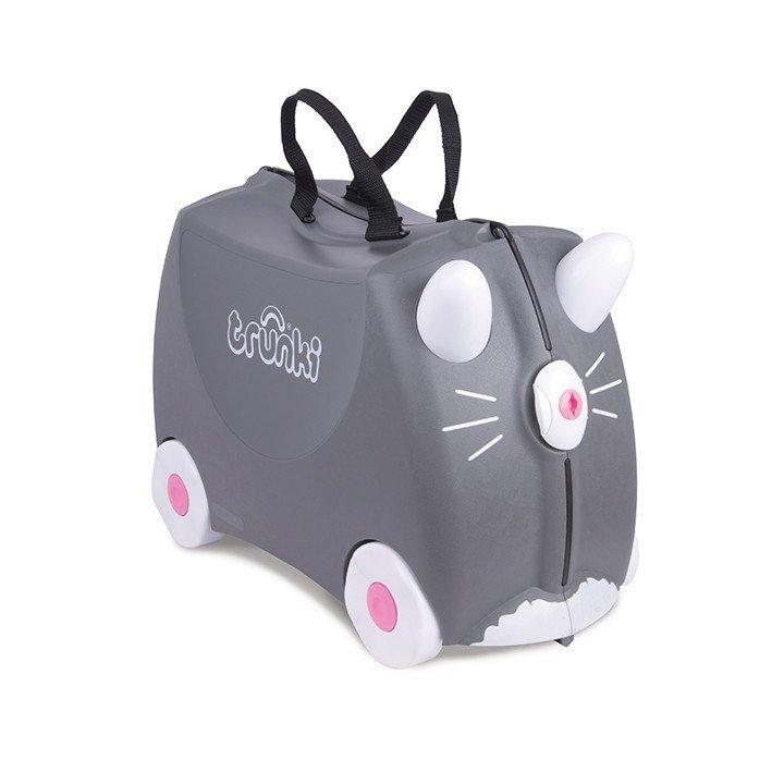 Une valise cabine spécial Enfant Trunki (Voyager léger avec bébé, c'est possible)