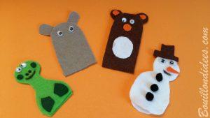 fabriquer des marionnettes à doigts