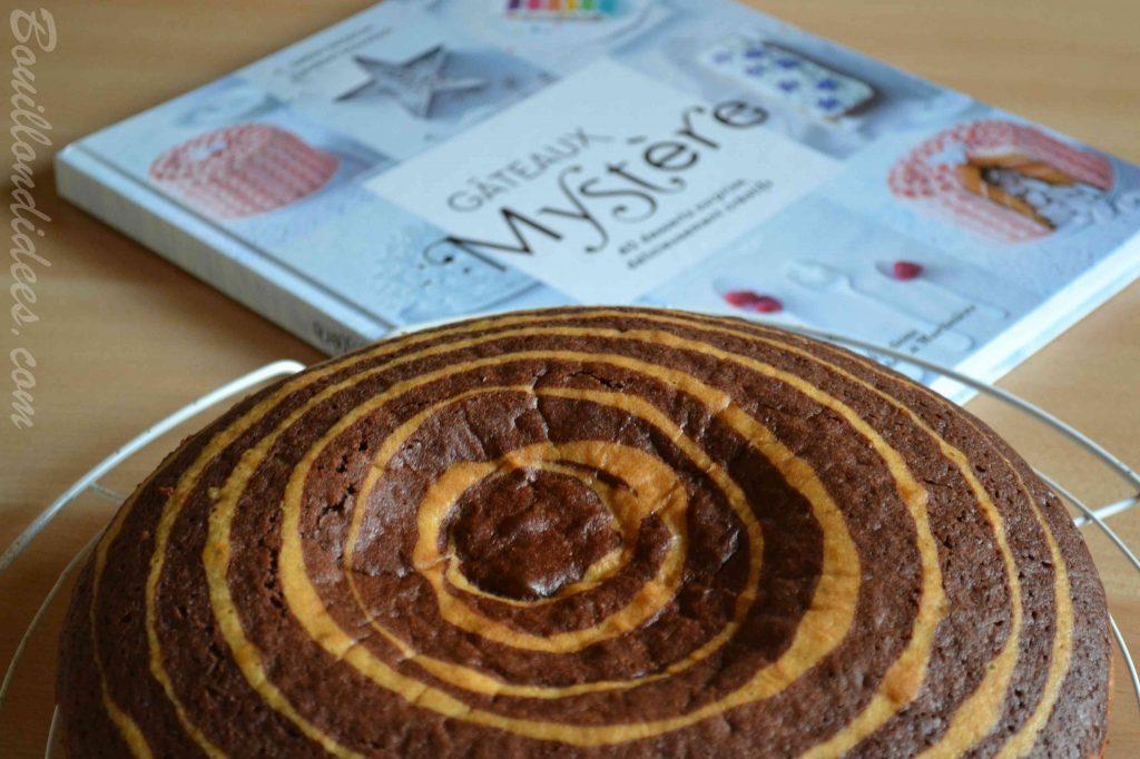Gâteau zébré ou marbré sans PLV - sans lait, sans beurre (pour petit allergique)