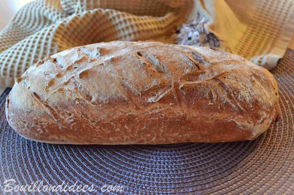Pain sans gluten, à la farine de sarrasin - facile, sans pétrissage - cuit à l'Omnicuiseur (Bouillon d'idées)
